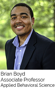 Brian Boyd, Associate Professor, Applied Behavioral Science