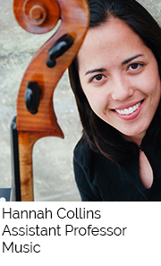 Hannah Collins, Assistant Professor, Music