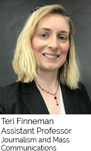 Teri Finneman, Assistant Professor, Journalism and Mass Communication