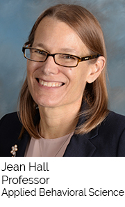 Jean Hall, Professor, Applied Behavioral Science