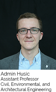 Admin Husic, Assistant Professor, Civil Environmental and Architectural Engineering