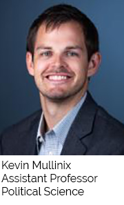 Kevin Mullinix, Assistant Professor, Political Science