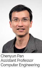 Chenyun Pan, Assistant Professor, Computer Engineering