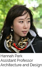 Hannah Park, Assistant Professor, Architecture and Design