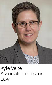 Kyle Velte, Associate Professor, Law